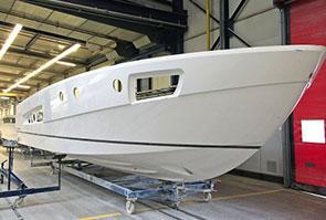 высокобортная лодка